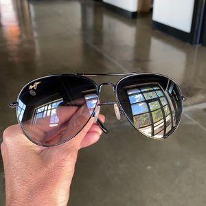 Maui Jim Mavericks Aviator Unisex Sunglasses